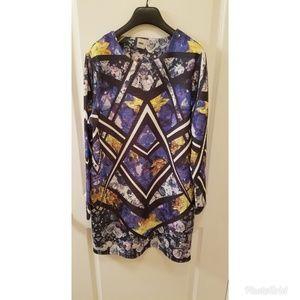 ASOS - Abstract Print Shift Dress